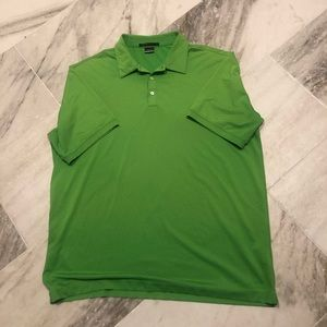 Nike Tiger Woods lime green golf polo. XL
